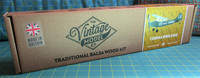 The Vintage Model Co. | Flying Model Kit | Cessna Bird Dog | Box