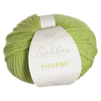 Sublime Phoebe Chunky Knitting Yarn | 534 Lime