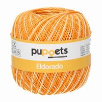 Anchor Puppets Eldorado 50g Crochet Yarn 10 Tkt  |  Yellow
