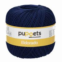 Anchor Puppets Eldorado 50g Crochet Yarn 10 Tkt  | Navy