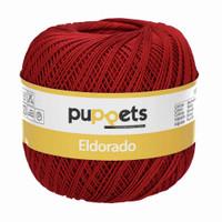 Anchor Puppets Eldorado 50g Crochet Yarn 10 Tkt  | Deep Red
