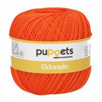 Anchor Puppets Eldorado 50g Crochet Yarn 10 Tkt  | Orange