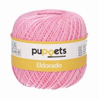 Anchor Puppets Eldorado 50g Crochet Yarn 10 Tkt  | Mid Pink