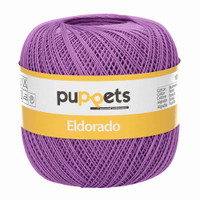 Anchor Puppets Eldorado 50g Crochet Yarn 16 Tkt | 7098 Purple