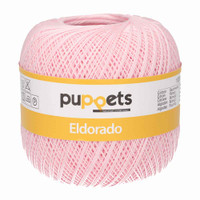 Anchor Puppets Eldorado 50g Crochet Yarn 16 Tkt | 7510 Pale Pink