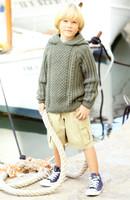 A Voyage to The Aran Isles | 13 designs in Bonus Aran for the family | Hayfield Aran (415) - Boys Hoodie