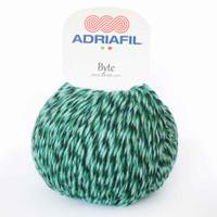 Adriafil Byte Dk yarn   85 Emeralds