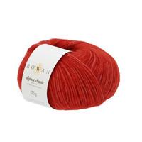 Rowan Alpaca Classic Dk Yarn, 25g Balls | 120 Vermillion