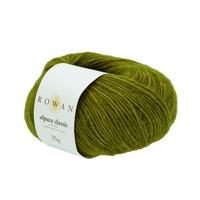 Rowan Alpaca Classic Dk Yarn, 25g Balls  | 111 Green Moss
