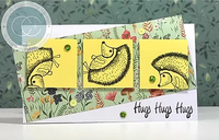 Craft Consortium | Over the Hedge | Harry the Hedgehog Stamp Set - An example of what you can make