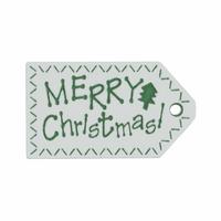 Trimits | Christmas Tags | 41mm Rectangle | Merry Christmas