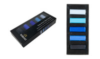 Rembrandt Soft Half Pastels Set of 5 - Deep Blues
