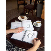 Draw Faces in 15 Minutes Drawing Book by Jake Spicer