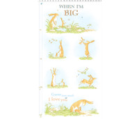 Guess How Much I Love You, When I'm Big | Anita Jeram | Clothworks Fabrics | CWY2870-1 | Panel