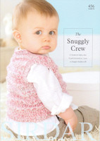 The Snuggly Crew Knitting Pattern Book | Sirdar Snuggly Peekaboo 456