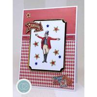 Circus | Clare Therese Gray | Craft Consortium | Wooden Ephemera Shapes - Sample 1