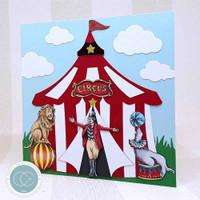 Circus | Clare Therese Gray | Craft Consortium | Wooden Ephemera Shapes - Sample 2