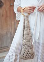 Mode at Rowan   Summer Knit - Bag (close up )