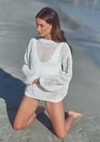 Mode at Rowan | Summer Knit - Mesh Sweater