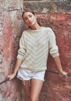 Mode at Rowan   Summer Knit - Chevron Jumper