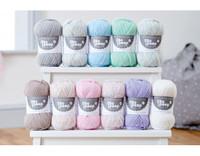 WYS Bo Peep Luxury Baby 4 ply Knitting Yarn, 50g | Various Shades