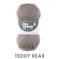 WYS Bo Peep Luxury Baby 4 ply Knitting Yarn, 50g | 165 Teddy Bear