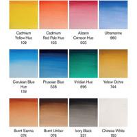 Winsor & Newton Cotman Watercolour 12 Tube Set - Colours