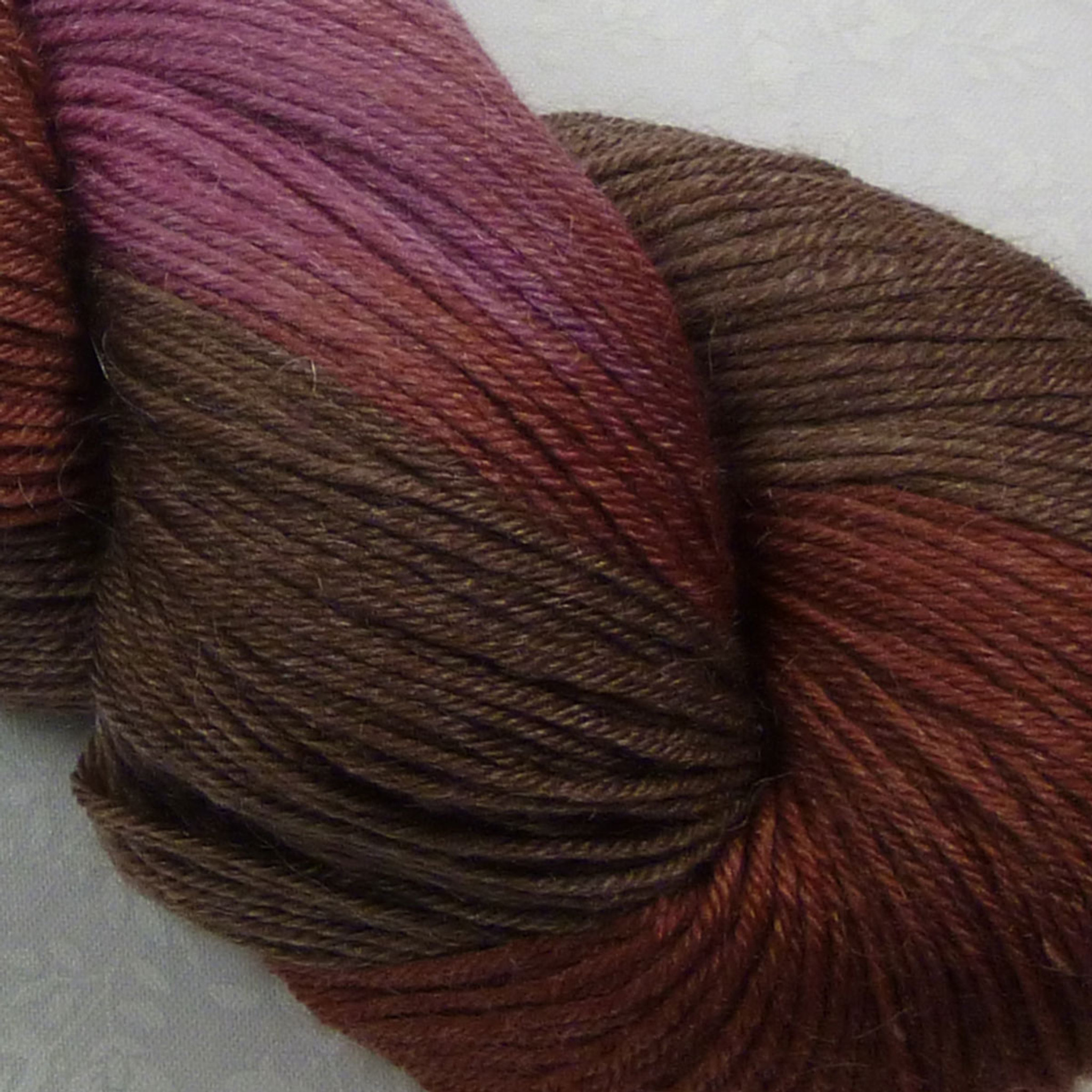 Rowan Fine Art Sock Yarn Color 302 Tawny