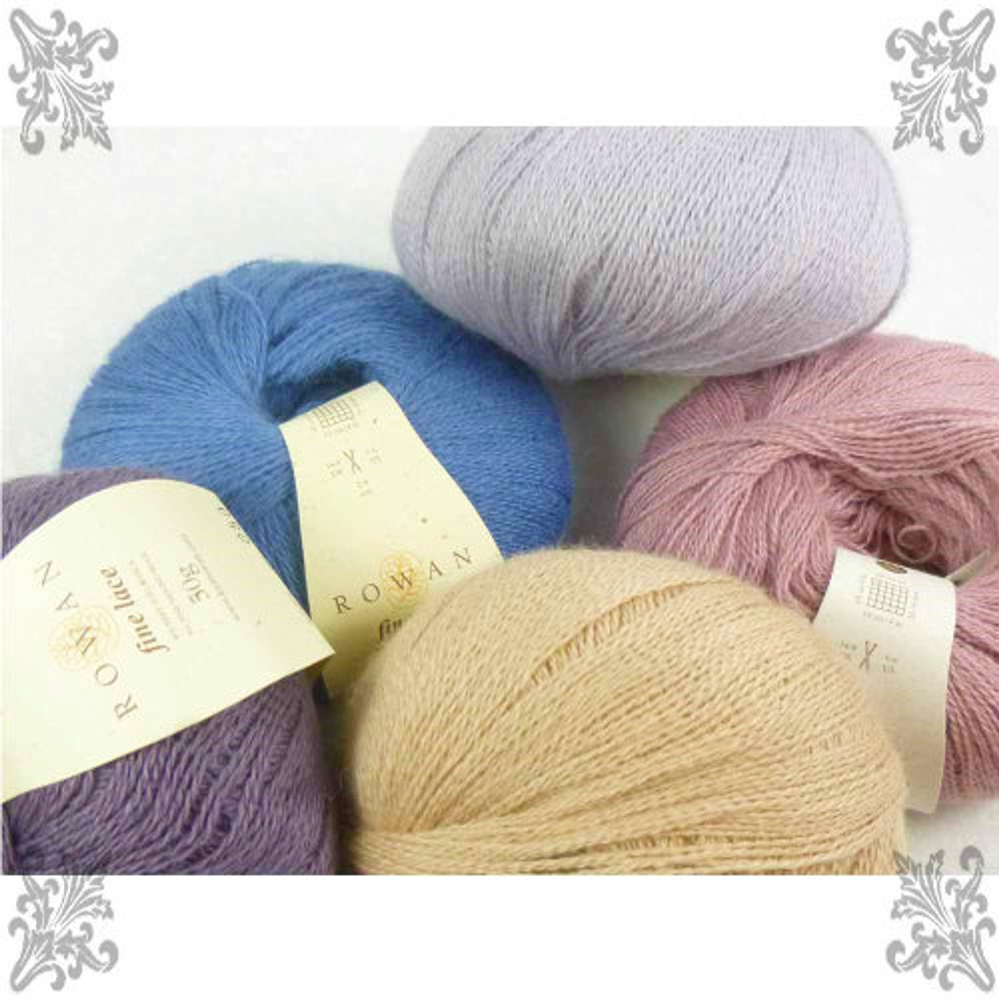 Rowan Fine Lace Knitting Yarn, 50g Balls   Various Shades