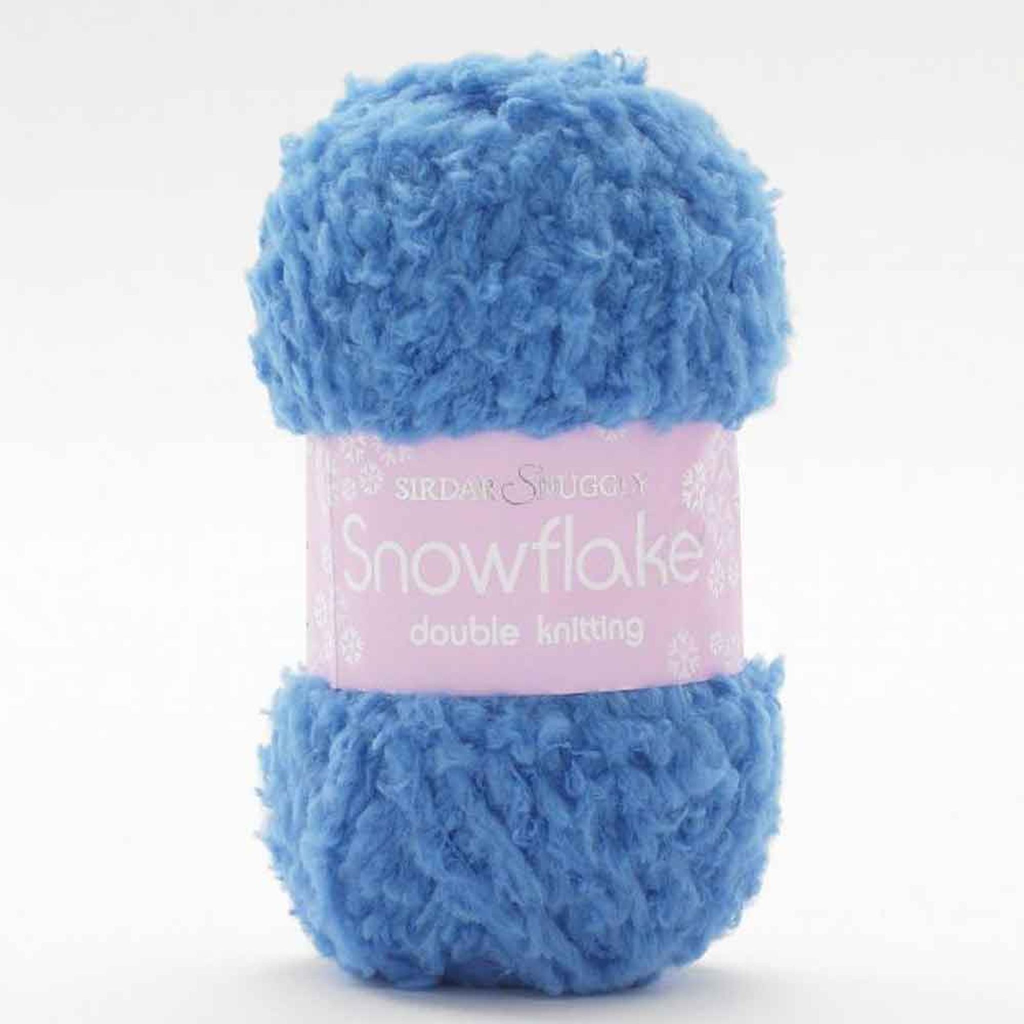 Sirdar Snowflake DK Blue 660 25g Balls