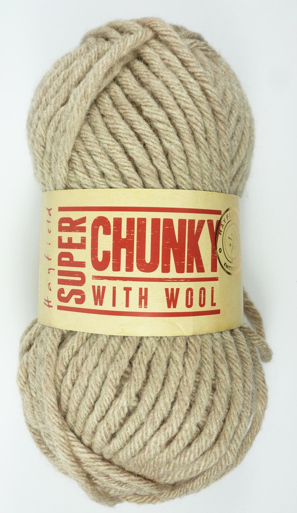 Sirdar Hayfield SUPER CHUNKY WITH WOOL Knitting Yarn 100g 050 CORNISH