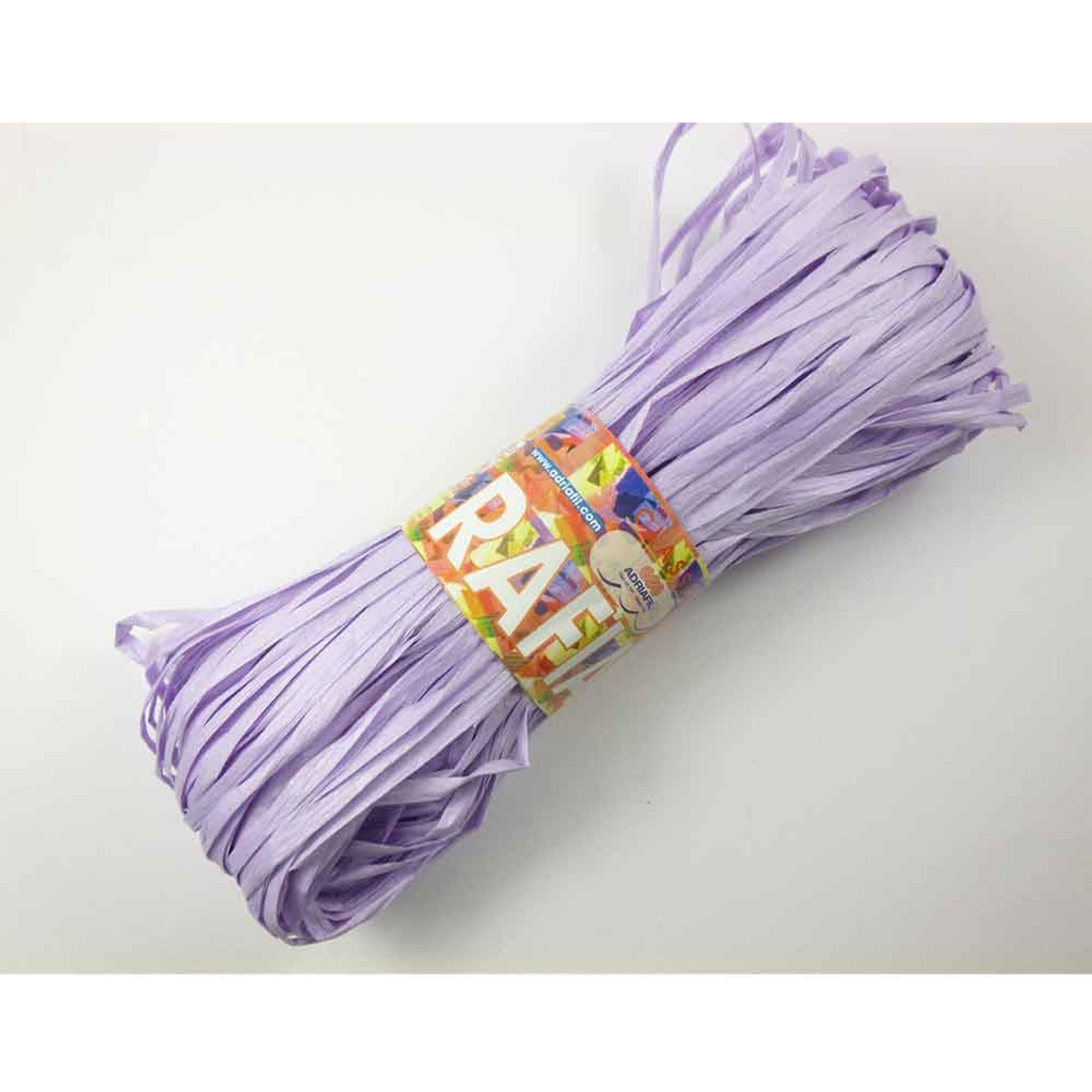 Adriafil Rafia 100/% Pulp Wood Knitting YarnRange of Shades
