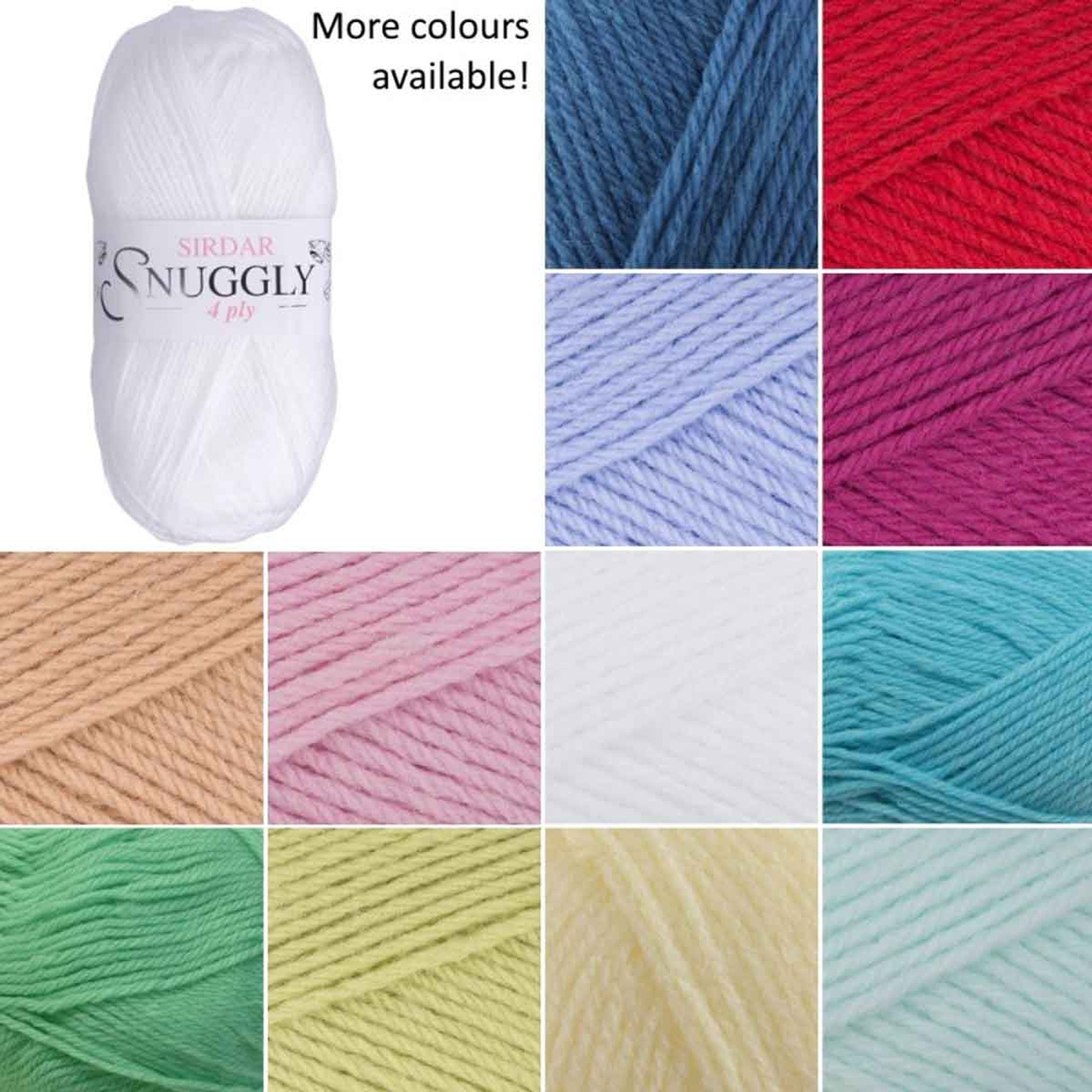 428 Soft Brown Sirdar SNUGGLY DOUBLE KNITTING BABY Knitting Wool//Yarn 50g