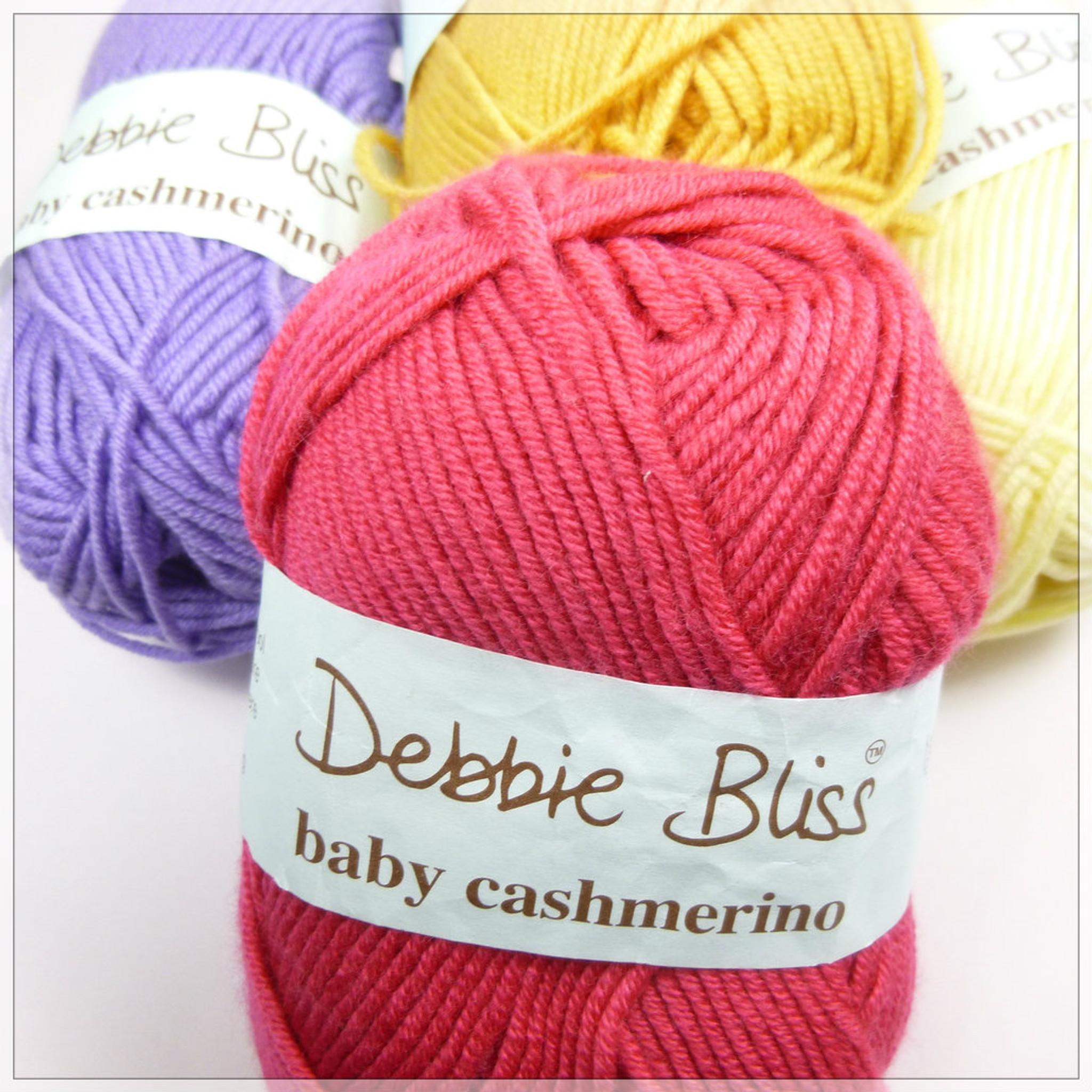 DEBBIE BLISS BABY CASHMERINO WOOL 306 flame