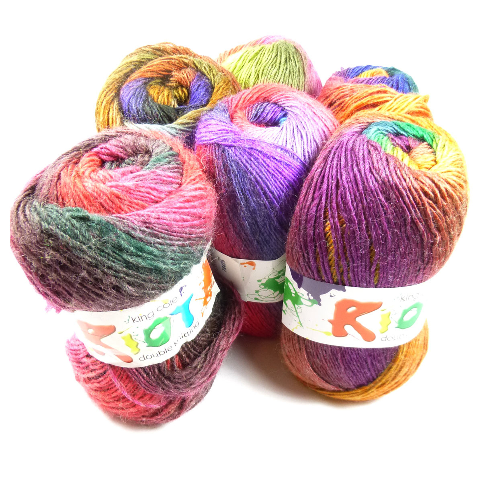 8 and 9 Stunning colours-wool silk and mohair Noro Obi 100g Shades 6