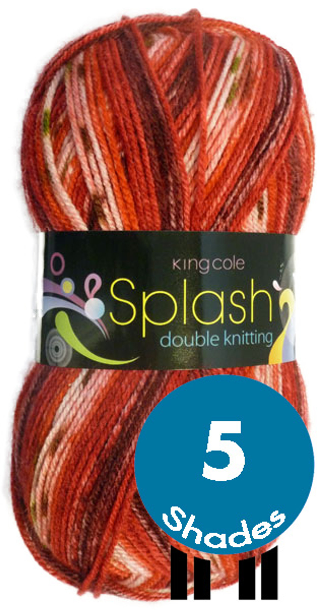 King Cole Pricewise DK 100gms various colours
