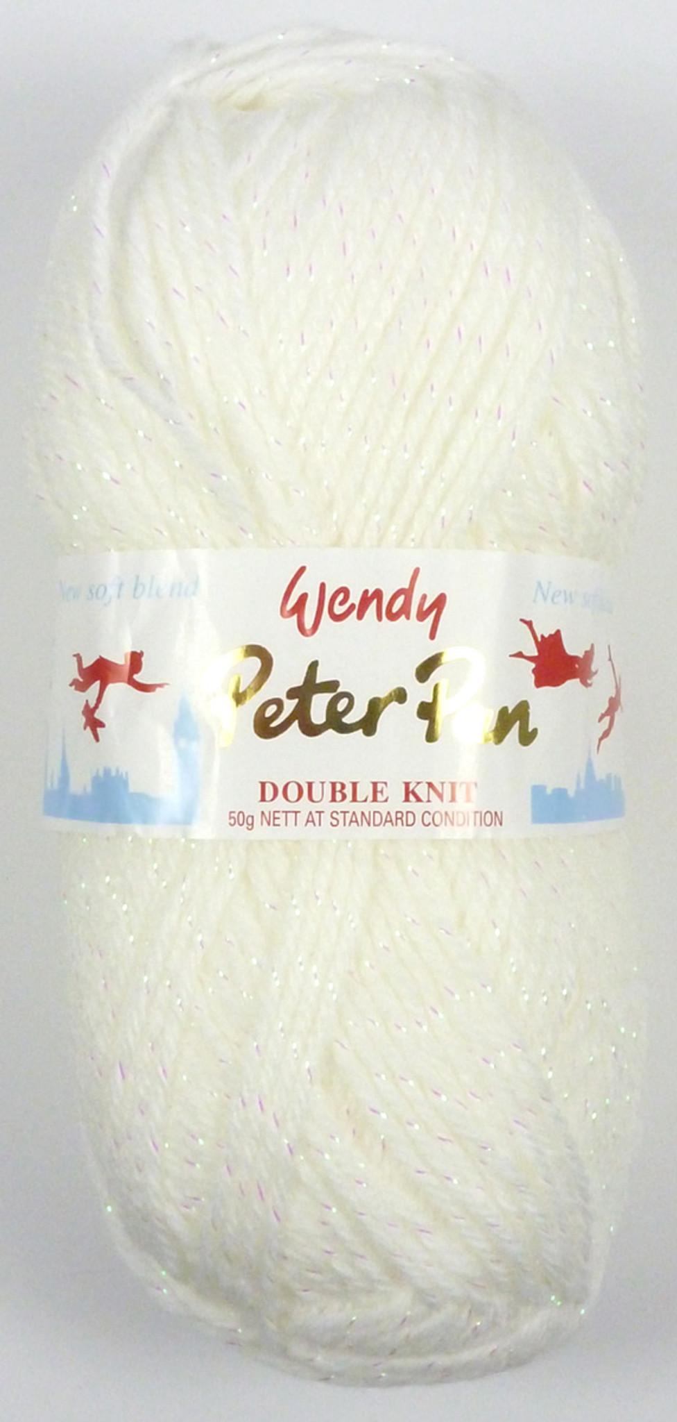 Yarn Wendy Peter Pan Moondust DK Wool 3003 Slumberland Craft Kits ...