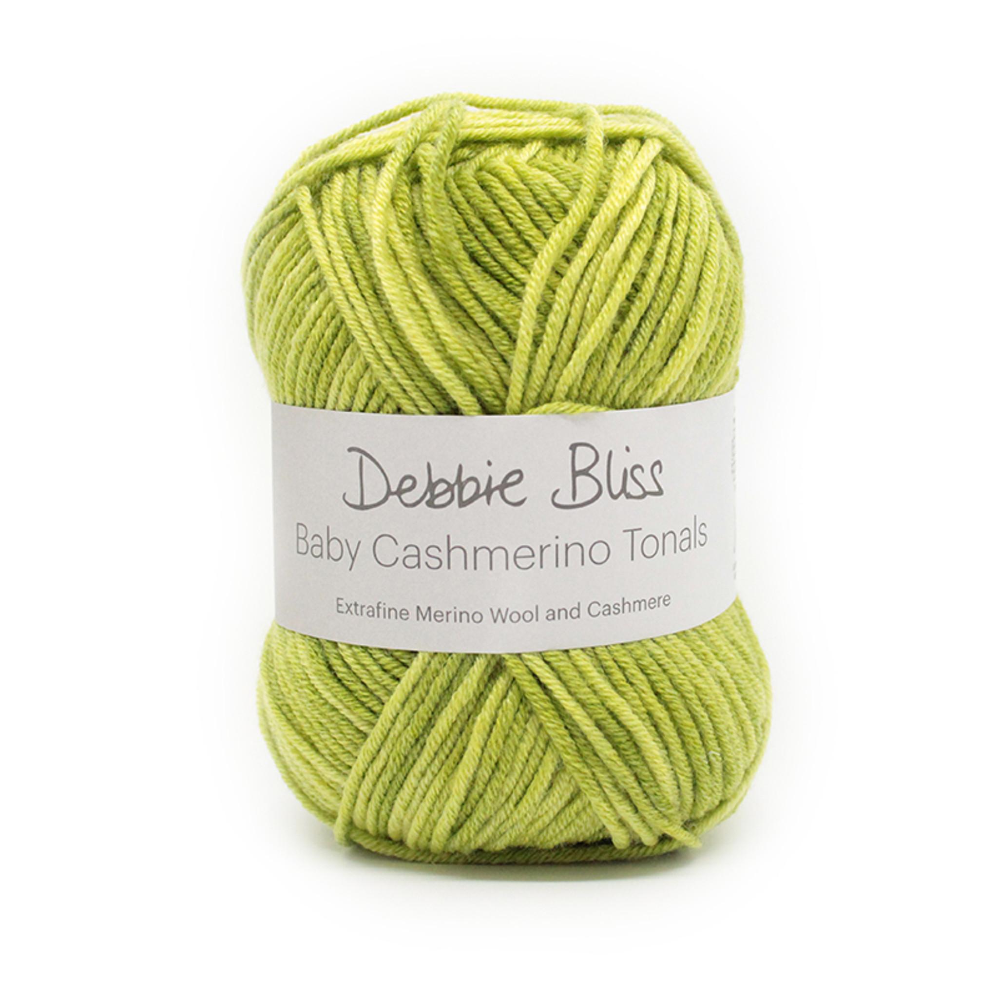 Debbie Bliss Cashmerino Aran Tonals Yellow Wool /& Cashmere 5 x 50g