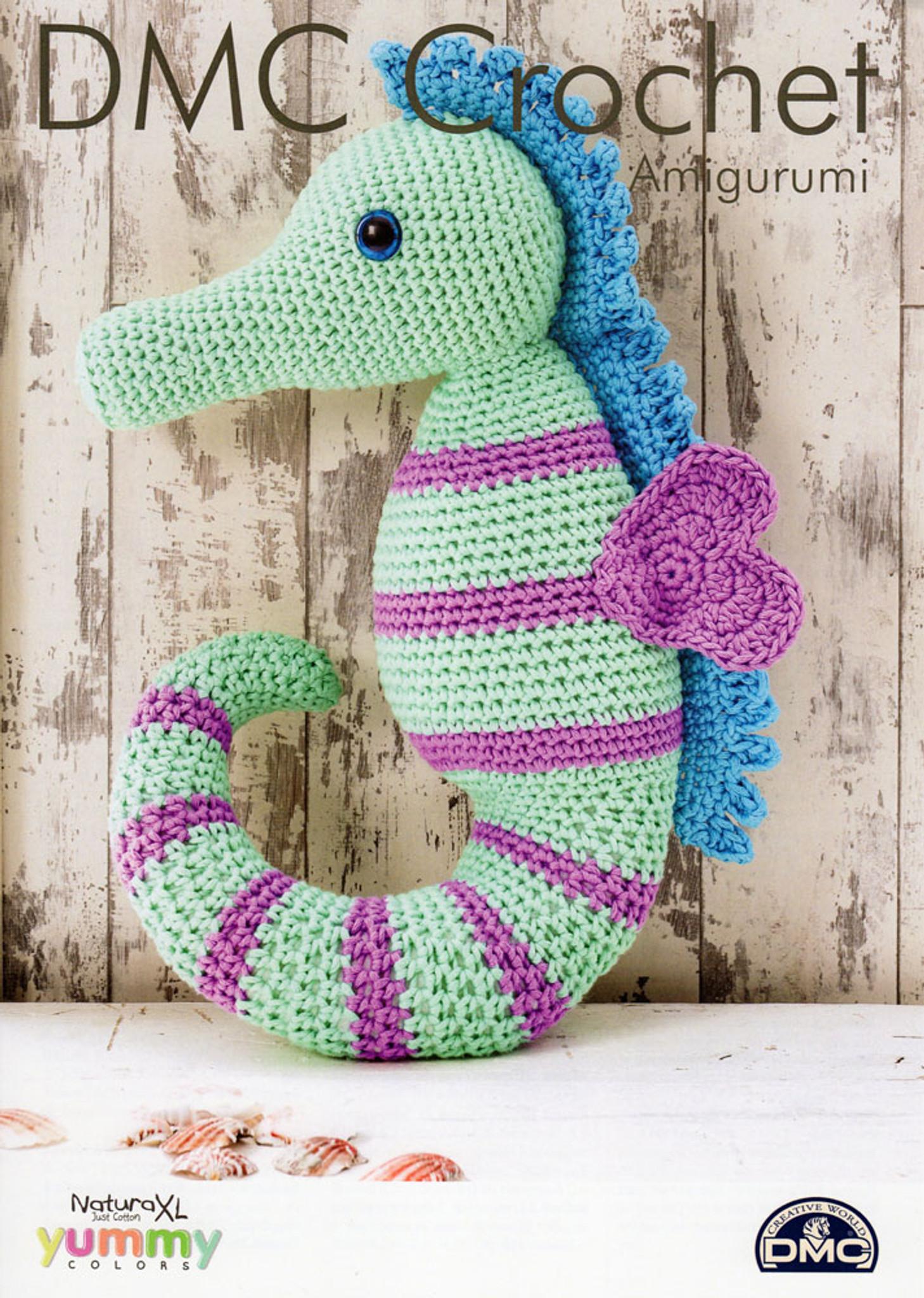 Free Pattern - Seahorse Teether | Stitches n Scraps | 2048x1458