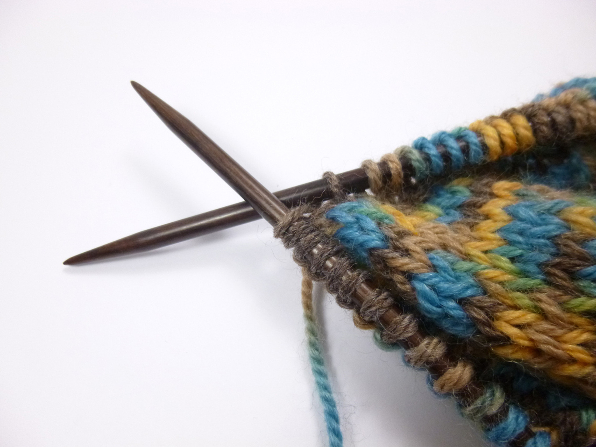 Multi-Color KnitPro 35 cm x 3 mm Symfonie Single Pointed Needles