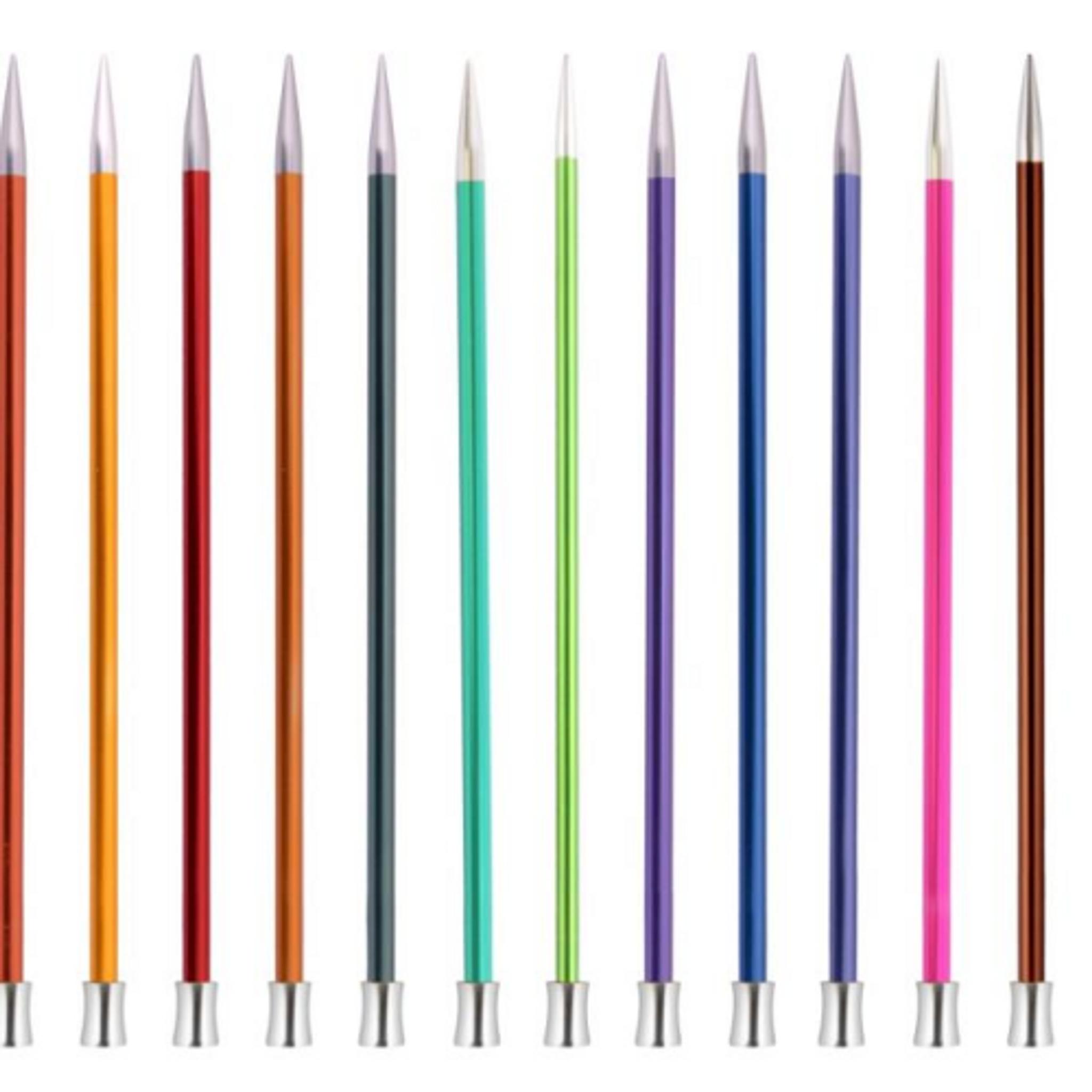 40cm Length KnitPro Symfonie Wood Straight Single Point Knitting Needles