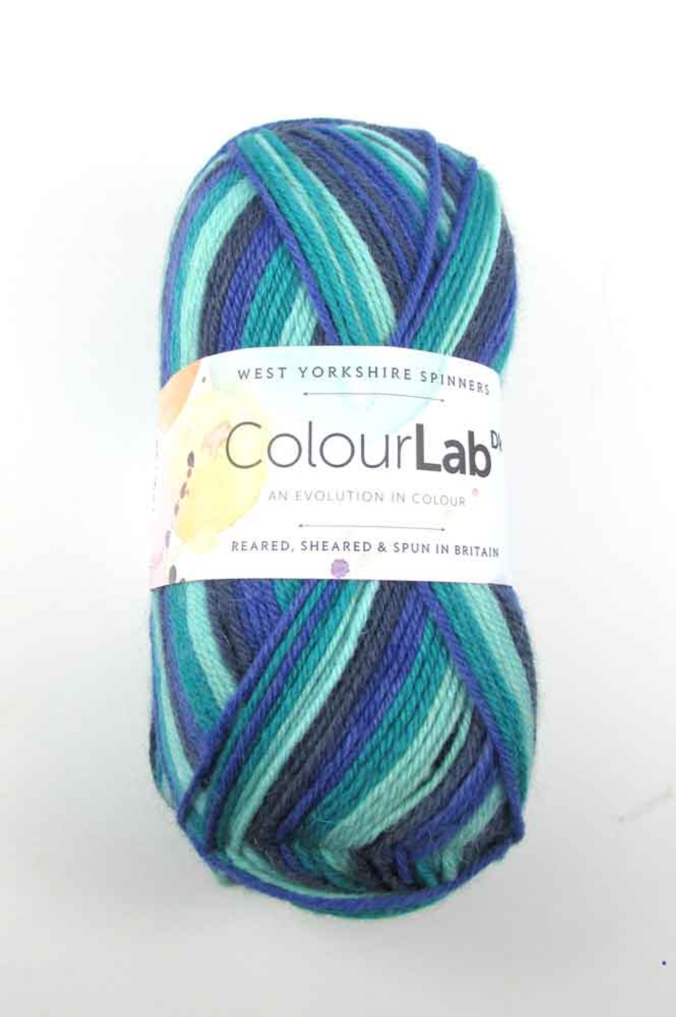 894 wys colourlab West Yorkshire Spinners ColourLab Dk Prism Brights