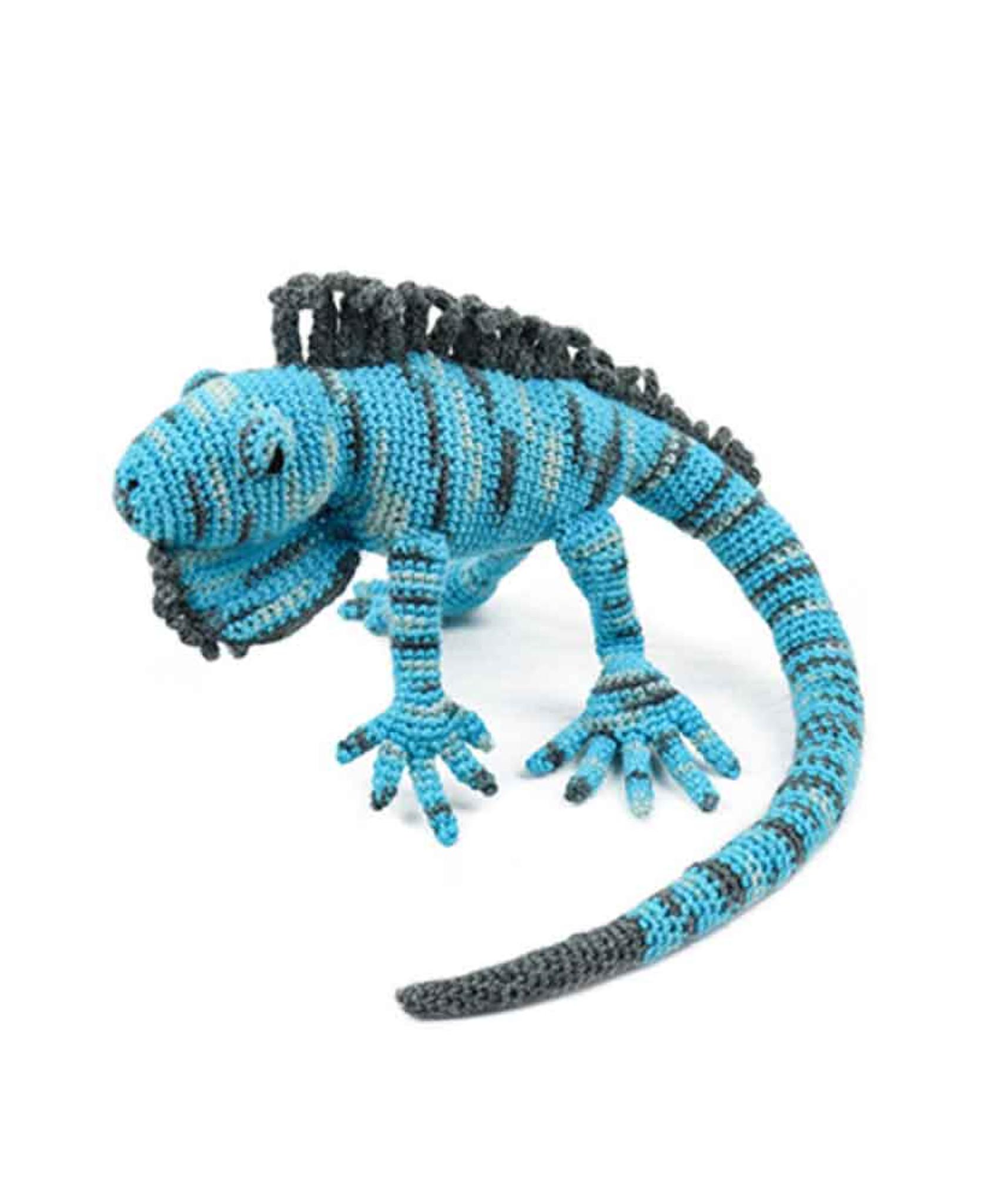 Toft Amigurumi Crochet Kits | Edward's Menagerie Animals | Kerry Lord |  Euripides the Iguana