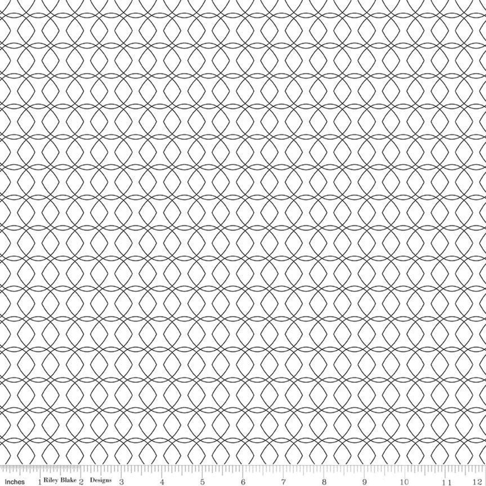 42 Count 10 x 10 Juniper~ Black,White,Grey 10 Stacker Precut by Jen Allyson for Riley Blake Designs #10-8330-42~100/% Cotton