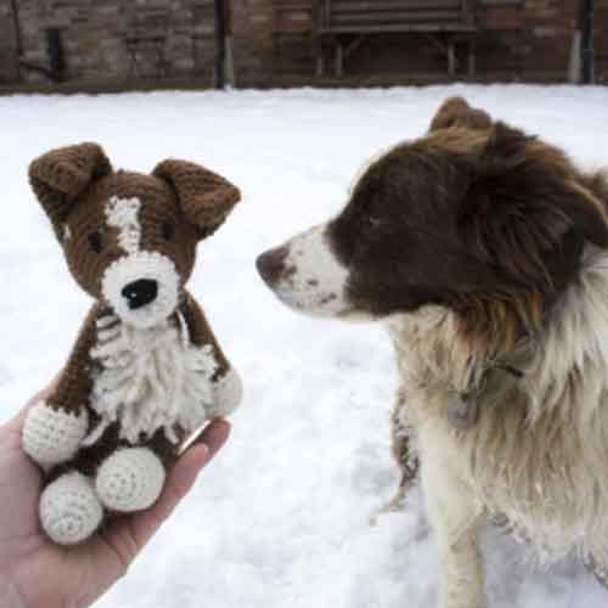 Ravelry: Border Collie pattern by Pixie Kitten | Crochet dog ... | 2048x2048