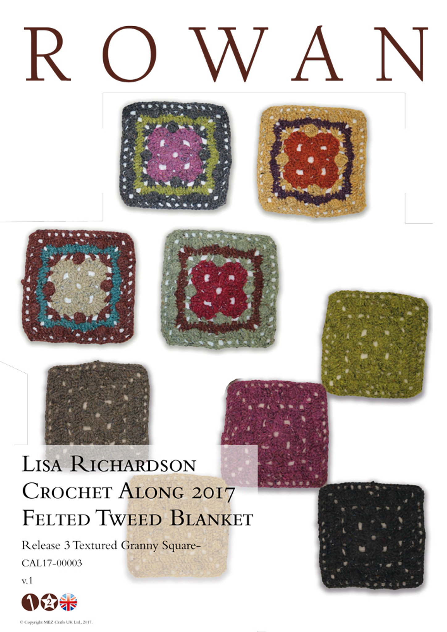 Rowan Knit Along no. 3 by Lisa Richardson - Textured Granny Square