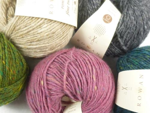 Rowan Fine Tweed Knitting Yarn | Various Colours - Main Image