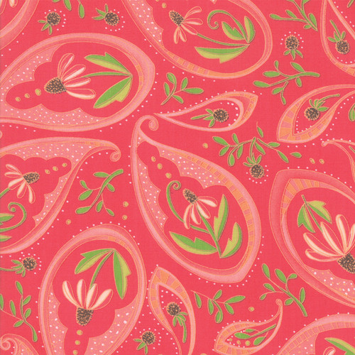 Painted Meadow | Robin Pickens | Moda Fabrics | 48661-18 | Passion