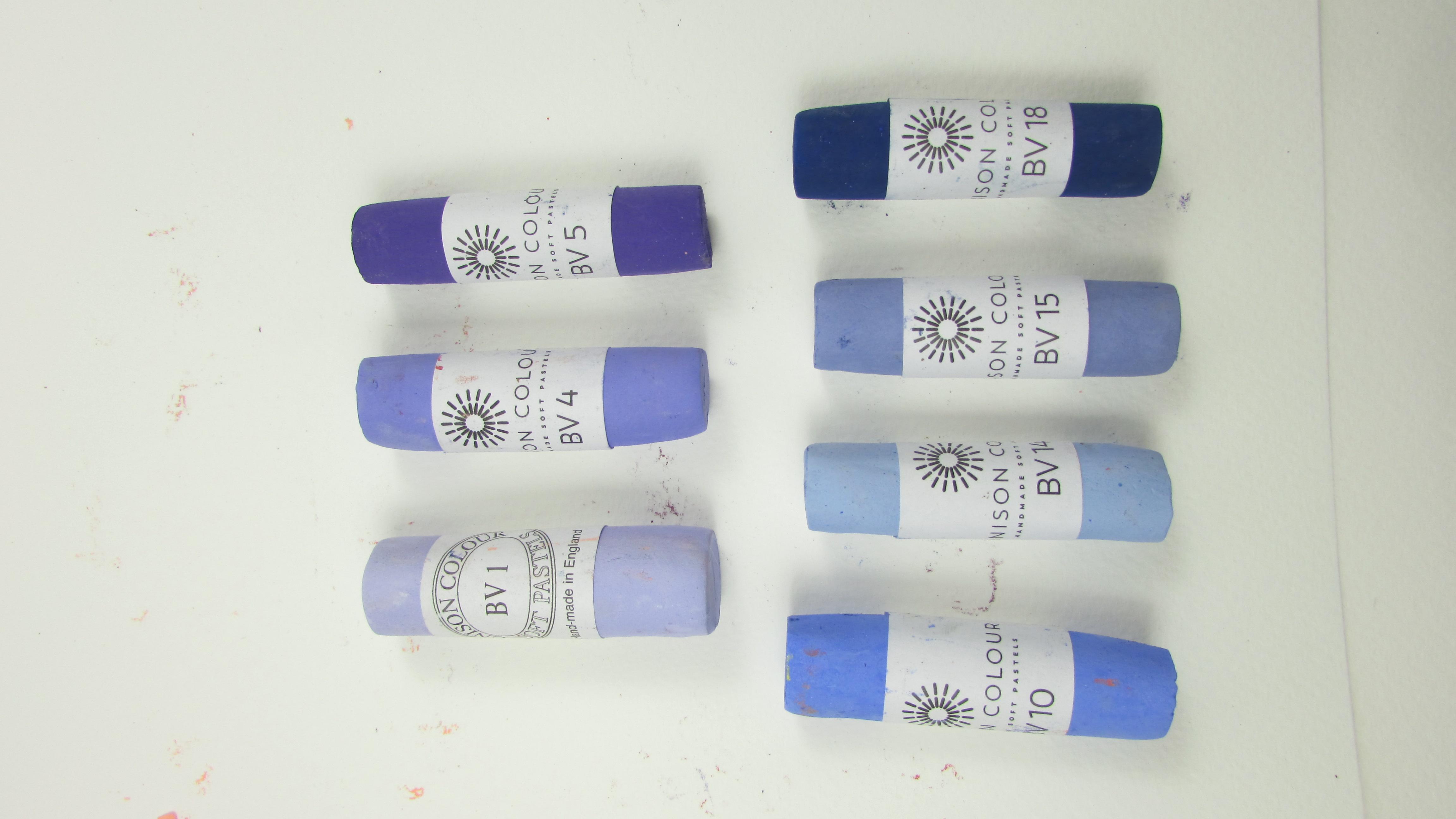 Unison Soft Pastel Single Blue Violet 9