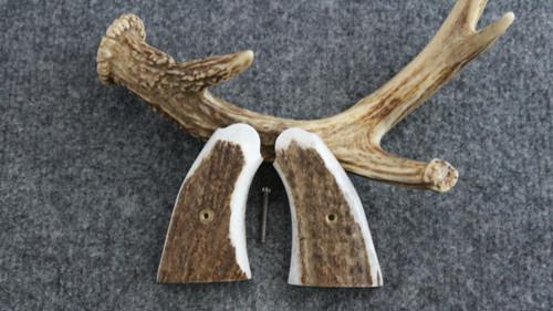 Smith & Wesson K/L Frame Square Butt Elk Custom Pistol Grips Item #1754